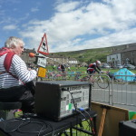"Tour de France  ""Le Grand Depart"" in Reeth North Yorkshire 2014"