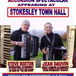 Stokesley concert poster